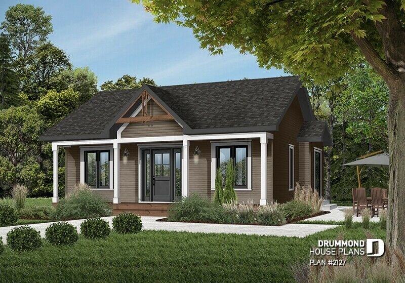 Exterior custom turnkey home or cottage build 2 bed 1 bath PEI contractor GI Adams Construction