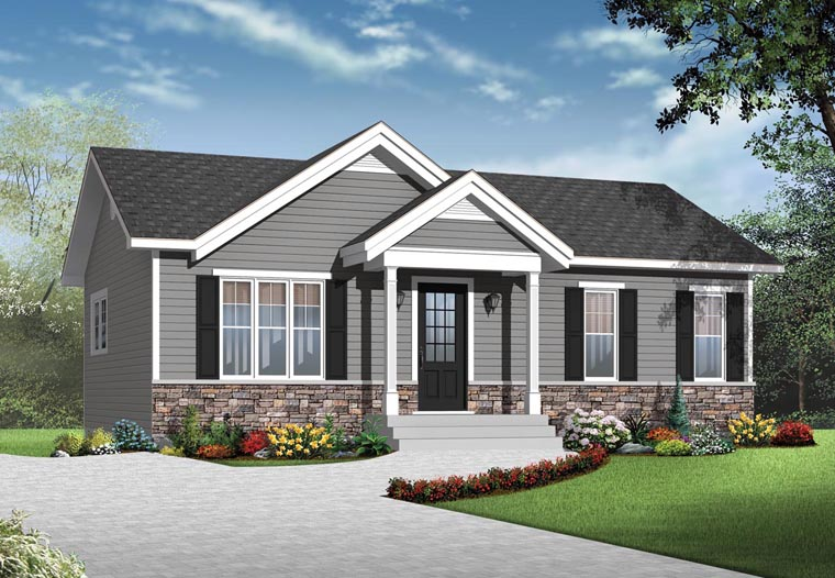 exterior custom turnkey 2 bed 1 bath home build PEI contractor
