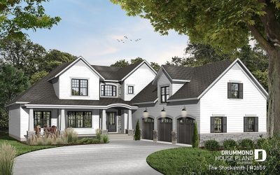 4 BED 3.5 BATH LAKEFRONT STYLE HOME